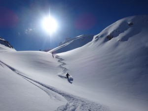 Raids à skis en Albanie