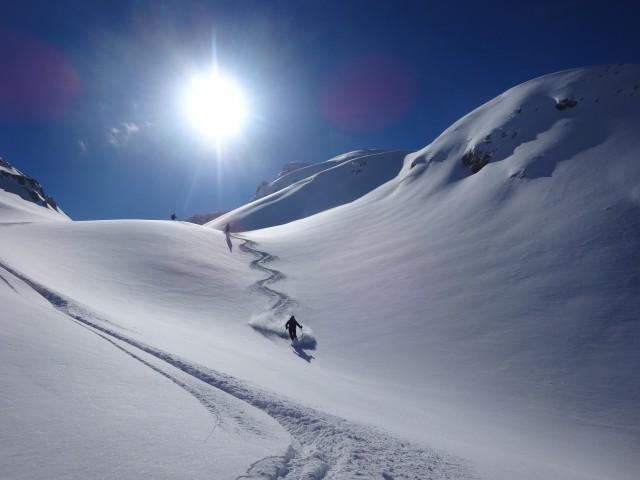 Albania – ski course