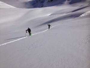 Toule glacier